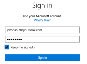 hotmail-signin